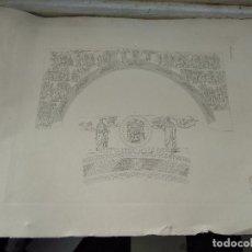 Arte: GRABADO DE PLANCHA SIGLO XIX MUSAICI - MEDIDAS 47 X 35 CM. Lote 80196885