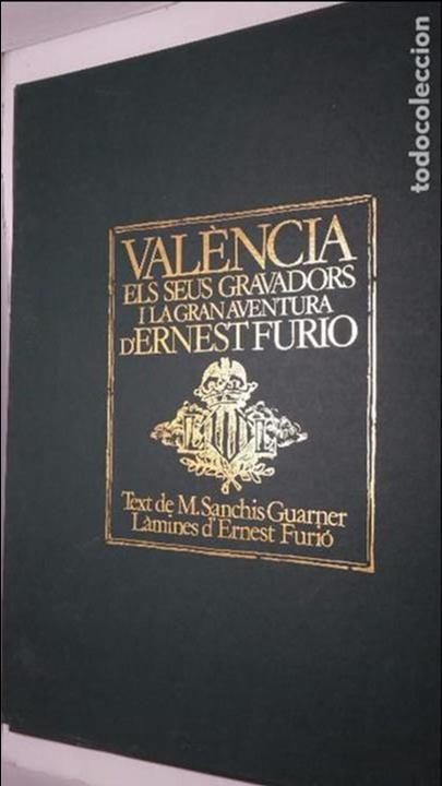 CARPETA VERDE COMPLETA 12 LAMINAS - GRABADOS DE ERNEST FURIO 66X50 CM. (Arte - Grabados - Modernos siglo XIX)