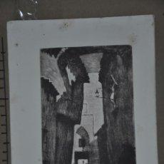 Arte: ANTIGUO GRABADO QUIZAS ORIENTALISTA , FIRMADO. Lote 81659380