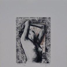 Arte: ALFONSO AYUSO, VENTANA IV, GRABADO. Lote 50428034