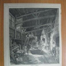 El herrero en su taller, 1870.