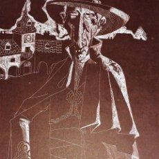 Arte: 6 GRABADOS. JUAN ANTONIO ALDA. SERIE ESPECIAL PARA IBERIA. ESPAÑA. 1974. Lote 82570716