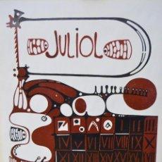 Arte: MOISES VILLÈLIA. FIRMADO 65 X54. Lote 82832248