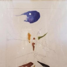 Arte: GRABADO JORGE CASTILLO - 1993 - NÚMERO 264/300 - AGUAFUERTE - AGUATINTA - . Lote 82930524