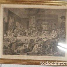 Arte: ANTIGUO GRABADO DE W. HOGART 1755. Lote 83641176