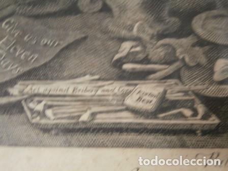 Arte: Antiguo grabado de W. HOGART 1755 - Foto 2 - 83641176