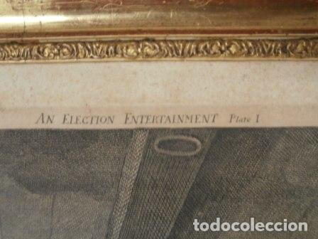 Arte: Antiguo grabado de W. HOGART 1755 - Foto 3 - 83641176