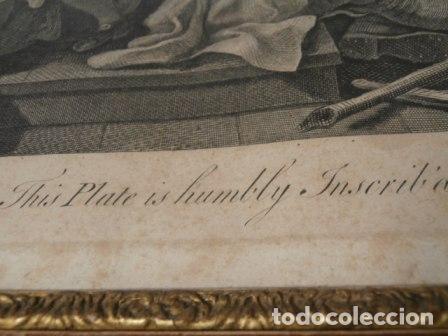 Arte: Antiguo grabado de W. HOGART 1755 - Foto 6 - 83641176