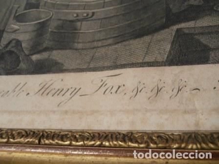 Arte: Antiguo grabado de W. HOGART 1755 - Foto 7 - 83641176