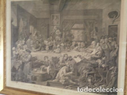 Arte: Antiguo grabado de W. HOGART 1755 - Foto 10 - 83641176
