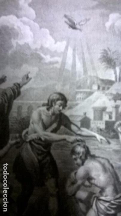 Arte: Grabado antiguo.Medida 18 x 25. - Foto 3 - 83687304