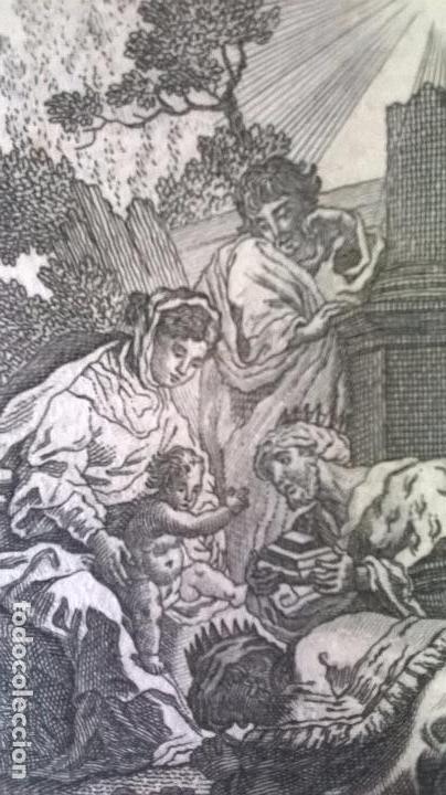 GRABADO ANTIGUO.MEDIDA 7X10 CM (Arte - Grabados - Antiguos hasta el siglo XVIII)