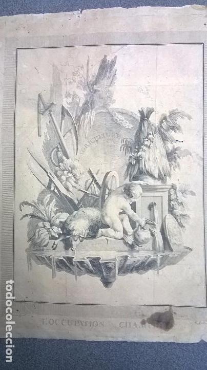 GRABADO ANTIGUO.MEDIDA 26X31,5 CM (Arte - Grabados - Antiguos hasta el siglo XVIII)
