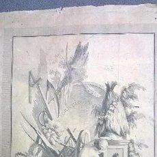 Arte: GRABADO ANTIGUO.MEDIDA 26X31,5 CM. Lote 83912124