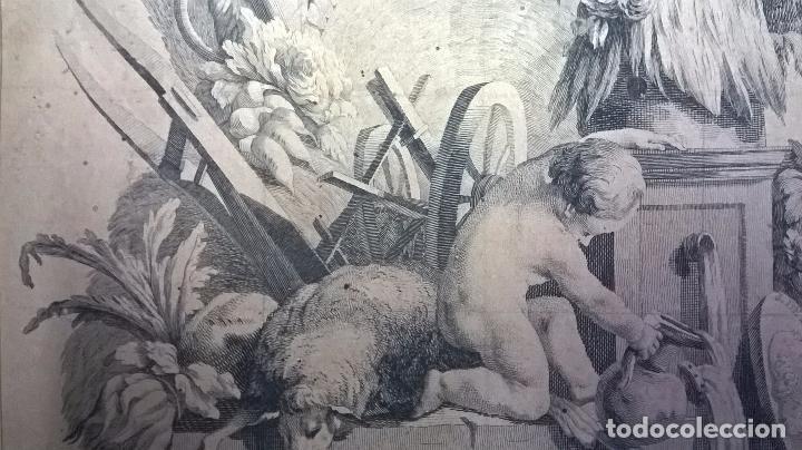 Arte: grabado antiguo.Medida 26x31,5 cm - Foto 2 - 83912124