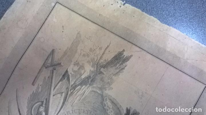 Arte: grabado antiguo.Medida 26x31,5 cm - Foto 4 - 83912124