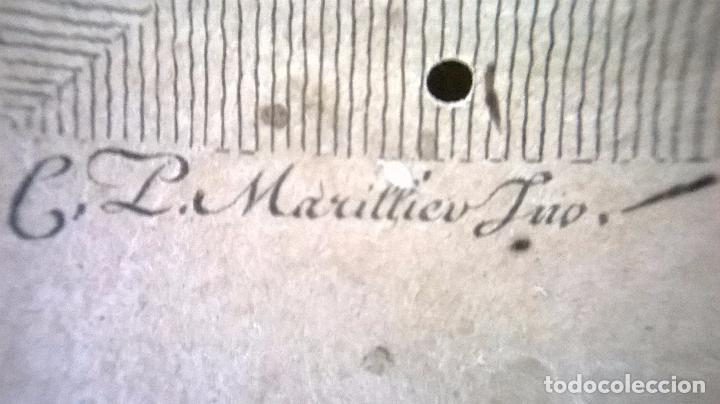 Arte: grabado antiguo.Medida 26x31,5 cm - Foto 5 - 83912124