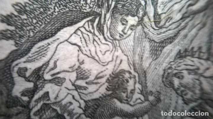 Arte: Grabado antiguo.Medida 7x10 cm - Foto 6 - 83909596