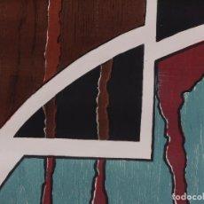 Arte: GRABADO ORIGINAL DE PACA ZABALLOS, CREPUSCULO, 1993. Lote 84189116