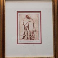 Arte: GRABADO DE MICHELE LEHMANN - FIRMADO Y NUMERADO. Lote 84740344
