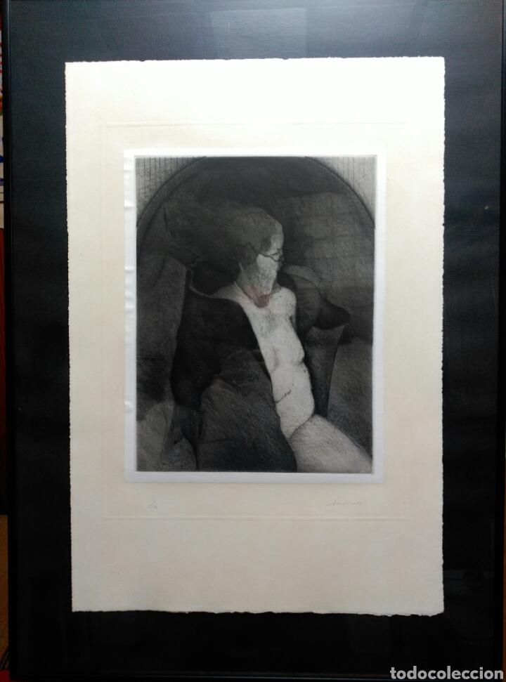 Arte: 13 Grabados Paco Aguilar, Rafael Alberti, Rafael Pérez Estrada carpeta de grabados ALOMA - Foto 6 - 85058274