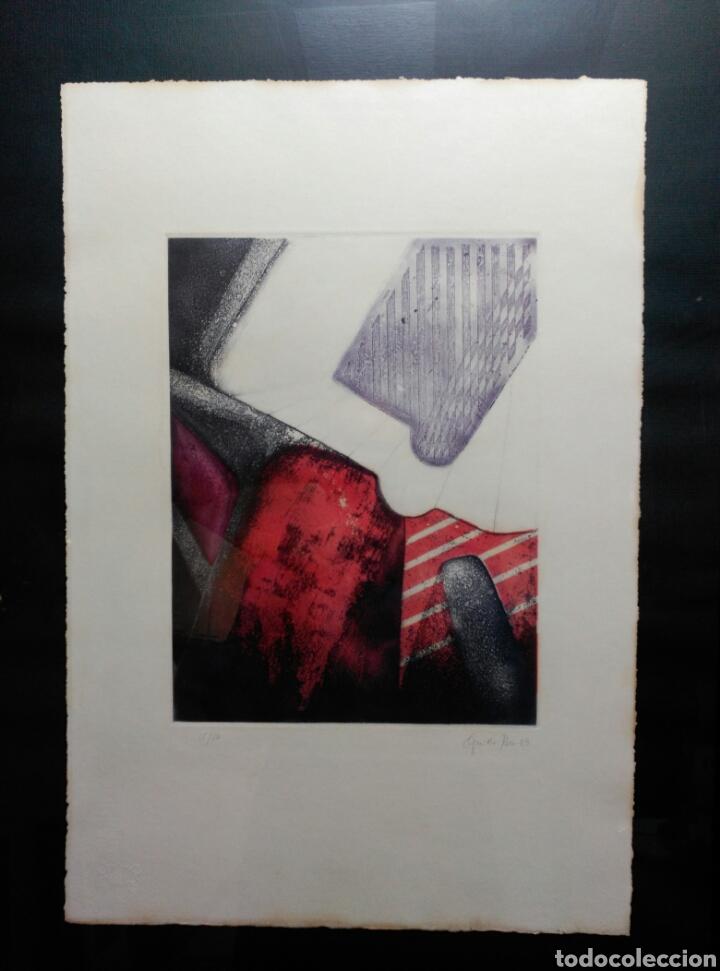 Arte: 13 Grabados Paco Aguilar, Rafael Alberti, Rafael Pérez Estrada carpeta de grabados ALOMA - Foto 7 - 85058274
