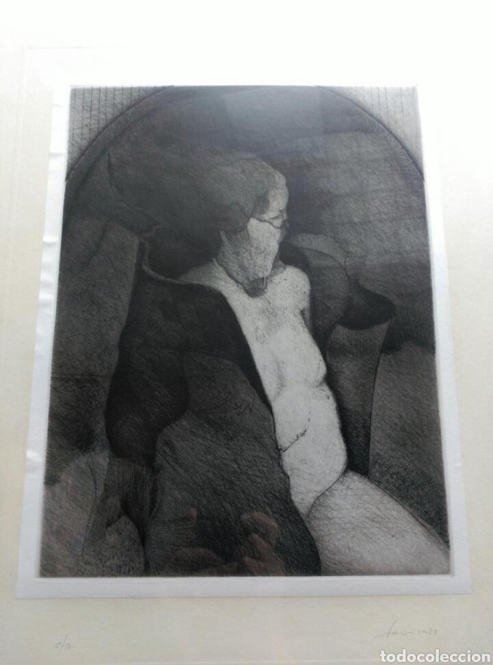 Arte: 13 Grabados Paco Aguilar, Rafael Alberti, Rafael Pérez Estrada carpeta de grabados ALOMA - Foto 20 - 85058274