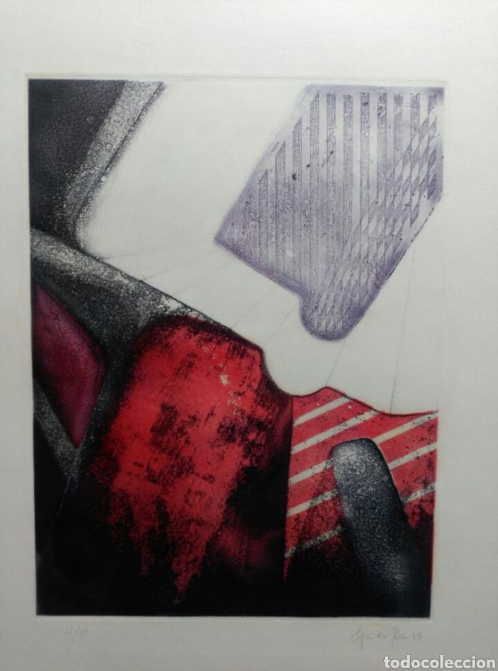 Arte: 13 Grabados Paco Aguilar, Rafael Alberti, Rafael Pérez Estrada carpeta de grabados ALOMA - Foto 21 - 85058274