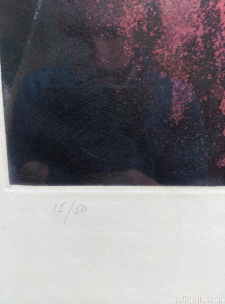 Arte: 13 Grabados Paco Aguilar, Rafael Alberti, Rafael Pérez Estrada carpeta de grabados ALOMA - Foto 22 - 85058274