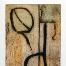 Arte: JORGE PERELLÓN. GRABADO MONOTIPO ORIGINAL. Lote 85077220