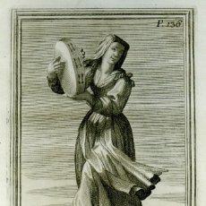 Arte: GABINETE ARMÓNICO - GIORGIO PLACHIO - AGUAFUERTE 1722. Lote 85293300