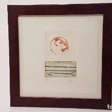 Arte: MONTSE ENRICH GRABADO UNICO P/A 2003. Lote 85702764