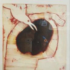Arte: DIAZDEL (MÁLAGA 1954), PRECIOSO GRABADO NUMERADO Y FIRMADO (ENMARCADO).. Lote 85760772