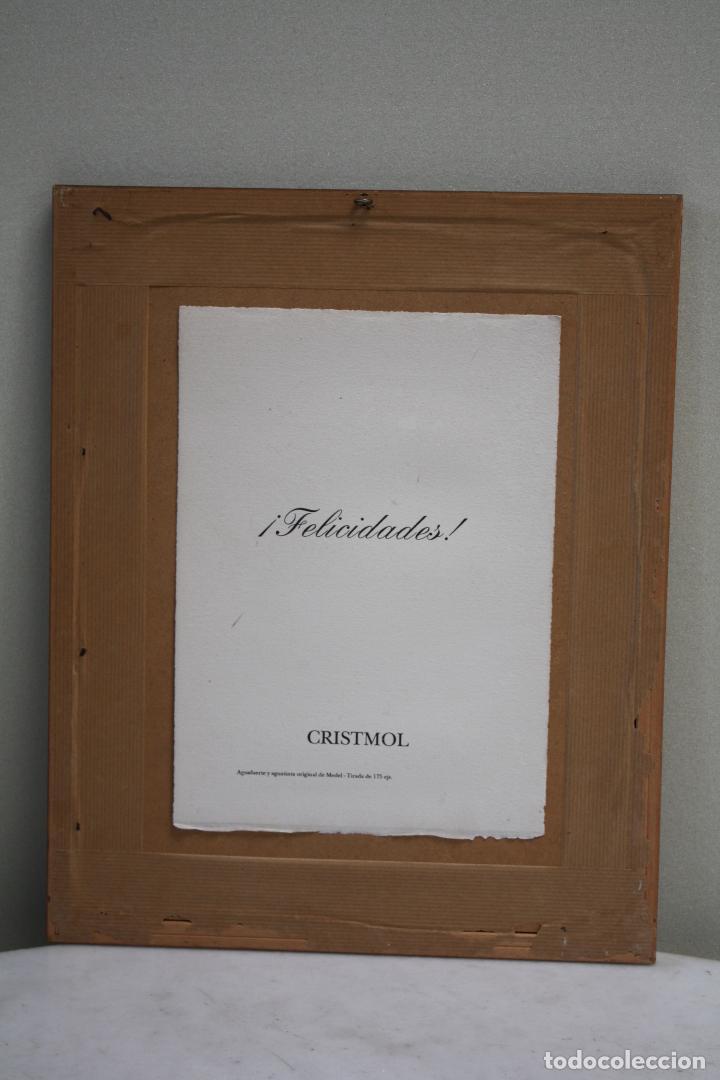 Arte: AGUAFUERTE Y AGUATINTA ORIGINAL DE MEDEL. FIRMADO, FECHADO Y NUMERADO A LÁPIZ. MEDIDAS: 28 X 20. - Foto 5 - 85942940