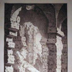 Arte: RUINAS DEL INTERIOR DEL COLISEO DE ROMA (ITALIA), 1708. OVERBEEK. Lote 86117640