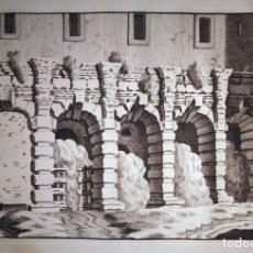Arte: RUINAS DE LA CURIA HOSTILIA EN EL FORO DE ROMA ( ITALIA),1708. OVERBEEK. Lote 86119392