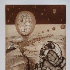 Arte: MANUEL AYLLÓN. COMPOSICIÓN. GRABADO ORIGINAL. Lote 95788771