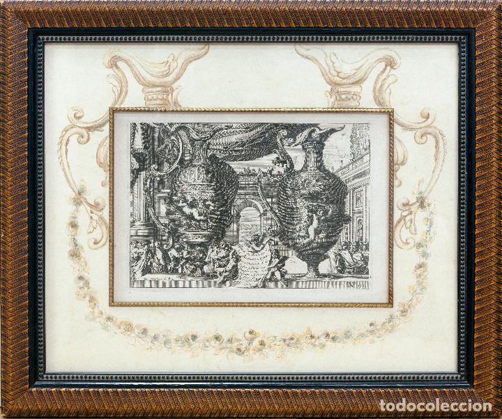 GRABADO ANTIGUO ORIGINAL DE LE BRUINE DEL SIGLO XVIII DE 1752- Nº 1 DE 99 (Arte - Grabados - Antiguos hasta el siglo XVIII)