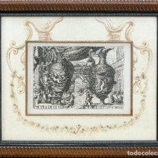 Arte: GRABADO ANTIGUO ORIGINAL DE LE BRUINE DEL SIGLO XVIII DE 1752- Nº 1 DE 99. Lote 87060424