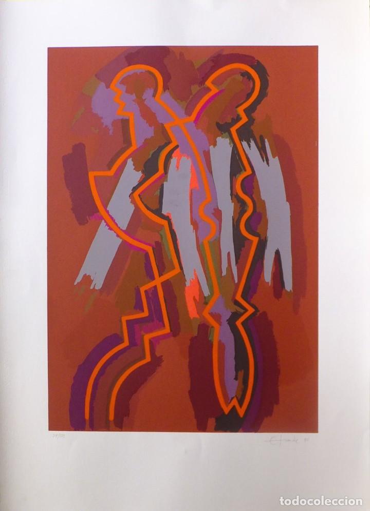 ESTEBAN TRANCHE. OBRA GRÁFICA. SIN TÍTULO (Arte - Grabados - Contemporáneos siglo XX)