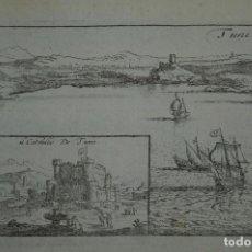 Arte: VISTA DE TÚNEZ, (NORTE DE ÁFRICA), 1690. PEETERS. Lote 87190652