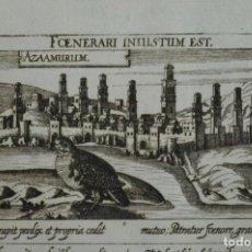 Arte: VISTA DE LA CIUDAD DE AZEMMOUR (MARRUECOS), 1640. DANIEL MEISNER. Lote 87229496