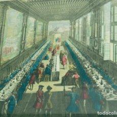Arte: VAN MERLE. ÓPTICO. GRABADO ORIGINAL AL AGUAFUERTE Y BURIL, DATADO EN 1685.. Lote 87674864