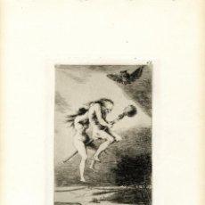 Arte: GOYA. AGUAFUERTE ORIGINAL NÚM 68 DE LOS CAPRICHOS. QUINTA EDICIÓN. Lote 87688440