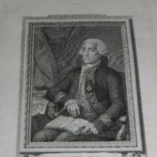 Arte: (MF) GRABADO DE D JORGE JUAN Y SANTACILIA MARINO PROFUNDO MATEMÁTICO , EL SABI ESPAÑOL NOVELDA 1773. Lote 88353088