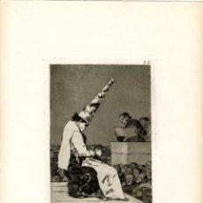 Arte: GOYA. AGUAFUERTE ORIGINAL NÚM 23 DE LOS CAPRICHOS. QUINTA EDICIÓN. Lote 89019160