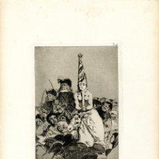 Arte: GOYA. AGUAFUERTE ORIGINAL NÚM 24 DE LOS CAPRICHOS. QUINTA EDICIÓN. Lote 89019264