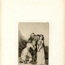 Arte: GOYA. AGUAFUERTE ORIGINAL NÚM 14 DE LOS CAPRICHOS. QUINTA EDICIÓN. Lote 89019360