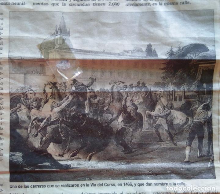 Arte: AGUAFUERTE COLOREADO A MANO - Ca 1800 - CON MARCO DE EPOCA - LE CARNAVAL DE ROMA - CORSA DE CAVALLI - Foto 16 - 89312100
