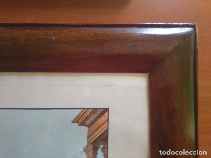 Arte: AGUAFUERTE COLOREADO A MANO - Ca 1800 - CON MARCO DE EPOCA - LA MOSSA - PRESSO D. MUCCI - Foto 10 - 89312516